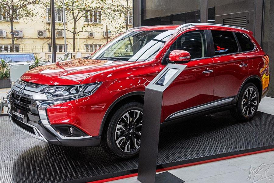 Mitsubishi Outlander – vượt trội trong phân khúc Crossover