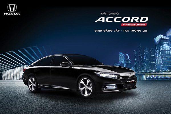 Honda Accord Kiên Giang: Báo giá & Khuyến mãi