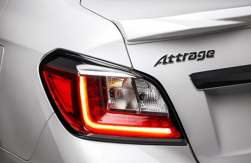 Đèn chiếu sáng phía sau LED. Thiết kế đèn xe đặc trưng mang lại ấn tượng mạnh cho phần đuôi xe.