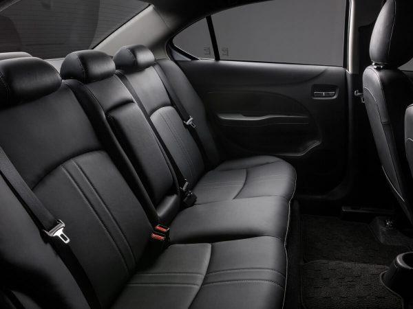 Hàng ghế sau của xe Mitsubishi Attrage