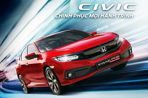 Honda Civic Kiên Giang: Báo giá & Khuyến mãi
