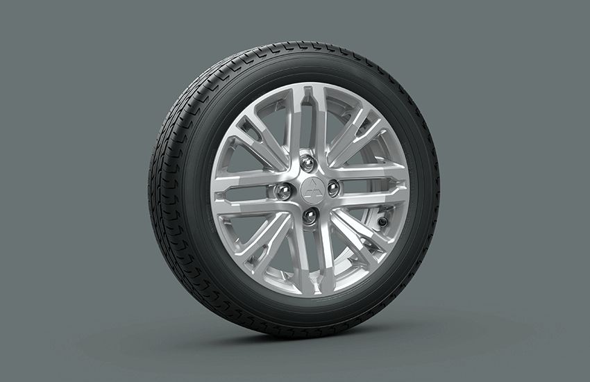 Mâm xe 15 inch thiết kế mới. Mâm đúc hợp kim với thiết kế mới hiện đại và thể thao.